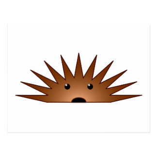 Hedgehog hedgehog post card