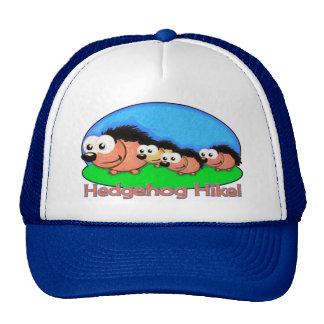 Hedgehog Holiday Hike Mesh Hats