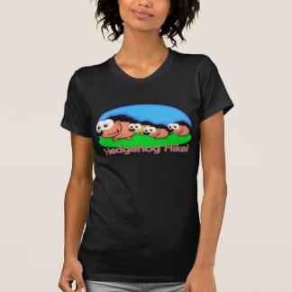 Hedgehog Holiday Hike T-shirt