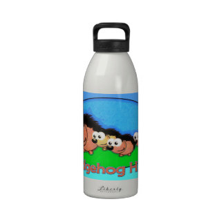 Hedgehog Holiday Hike Water Bottles