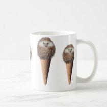 Hedgehog Ice Cream Coffee Mug