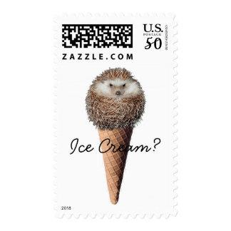 Hedgehog Ice Cream Postage