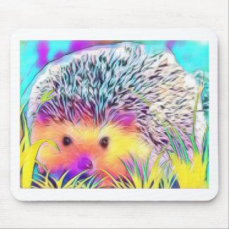 Hedgehog image mouse pad
