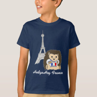 HedgeHog in France Dark Kids Tees