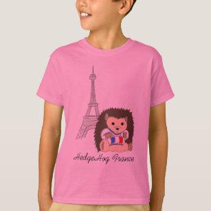HedgeHog in France Kids Shirts