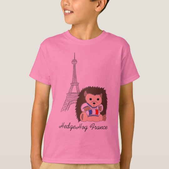 HedgeHog in France Kids Shirts