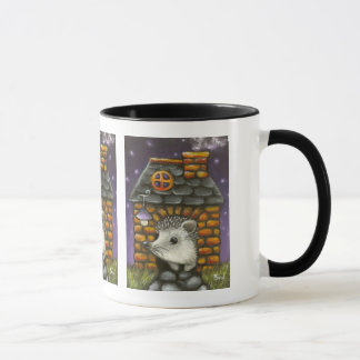 Hedgehog in his cosy little home mug