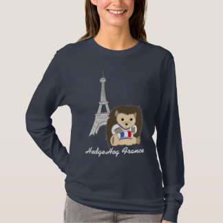 HedgeHog in Paris Shirts - Customize Your Own Text