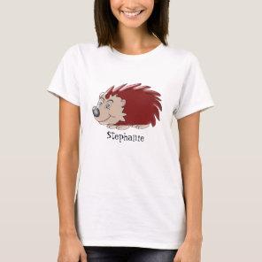 Hedgehog Just Add Name T-Shirt