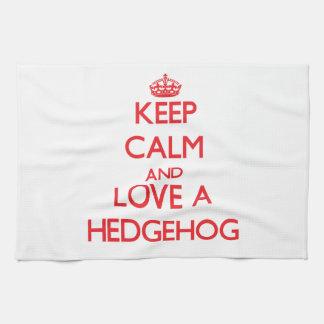 Hedgehog Kitchen Towel