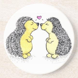 Hedgehog Love Drink Coasters