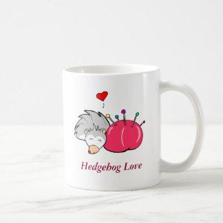 Hedgehog love, Hedgehog Love Classic White Coffee Mug