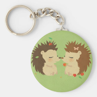 Hedgehog Love Keychan Keychain