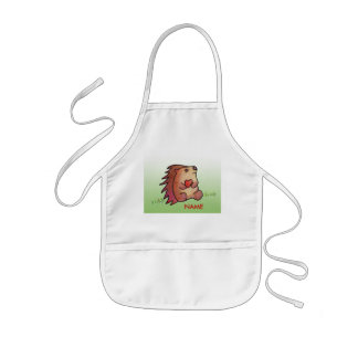 Hedgehog Love! Paint Smock! Kids' Apron