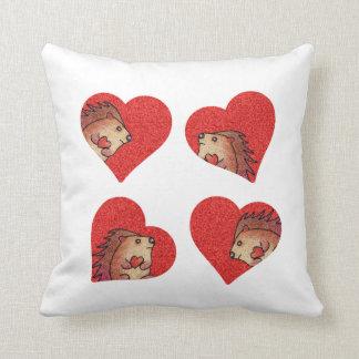 Hedgehog Love! Pillow