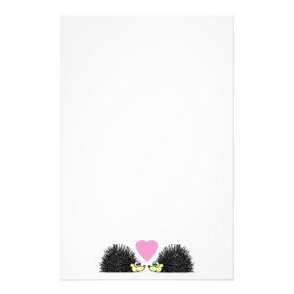 Hedgehog Love Stationery
