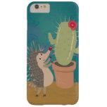 Hedgehog Meets Cactus iPhone 6 Plus Case