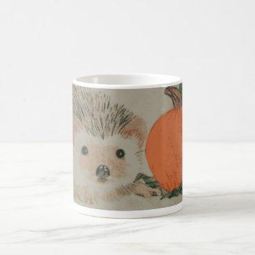 Halloween Themed Hedgehog mug
