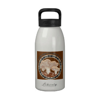 Hedgehog Mushroom Water Bottle