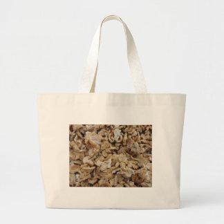 Hedgehog Mushrooms Large Tote Bag