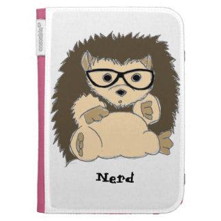 HedgeHog Nerd Kindle Cover Case