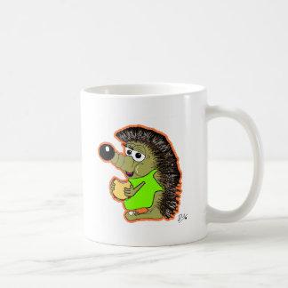 hedgehog orange mugs