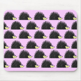 Hedgehog Parade Mousepad