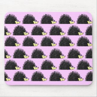 Hedgehog Parade Mousepad