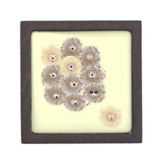 Hedgehog Party Gift Box Premium Jewelry Box