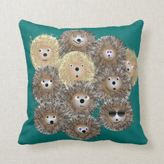 Hedgehog Party Pillow