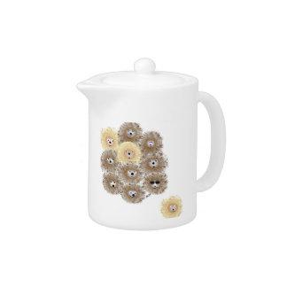 Hedgehog Party Teapot