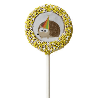 Hedgehog Party Chocolate Covered Oreo