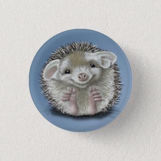 Hedgehog Pinback Button