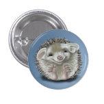 Hedgehog Pinback Buttons