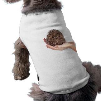 hedgehog playera sin mangas para perro