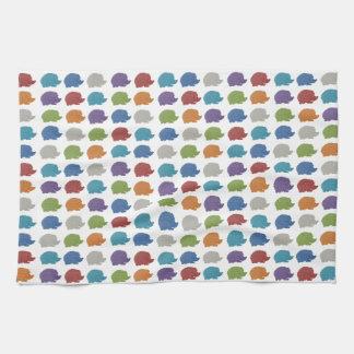 Hedgehog Pop Art Kitchen Towel