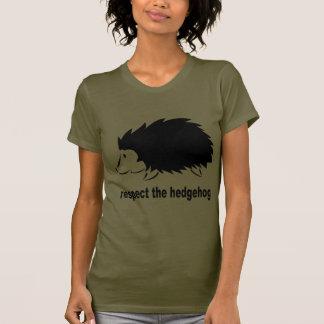 Hedgehog - Respect the Hedgehog T Shirt