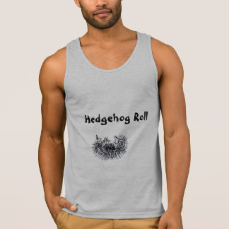 Hedgehog Roll Mens Tank Top Tank Tops