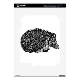 Hedgehog Skin For iPad 3