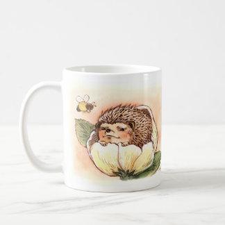 Hedgehog Spring Flower Baby Coffee Mug