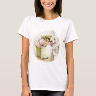 Hedgehog with Iron Mrs Tiggy-Winkle T-Shirt