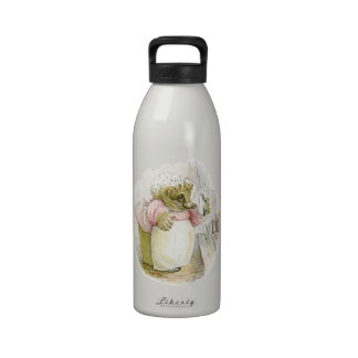 Hedgehog with Iron Mrs Tiggy-Winkle Drinking Bottles