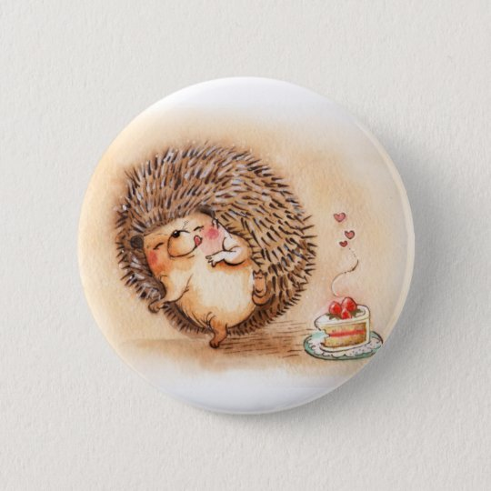 Hedgehog Yum Button