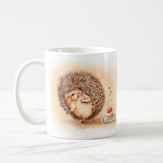 Hedgehog Yum Coffee Mug