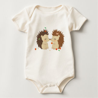 Hedgehogs Baby Clothing Baby Bodysuit