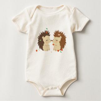 Hedgehogs Baby Clothing Baby Bodysuit