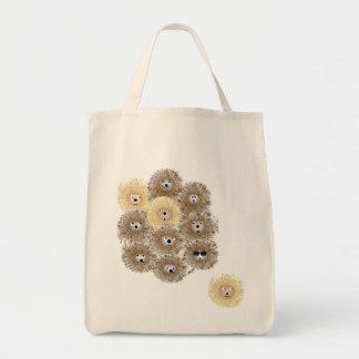 Hedgehogs Canvas Bag