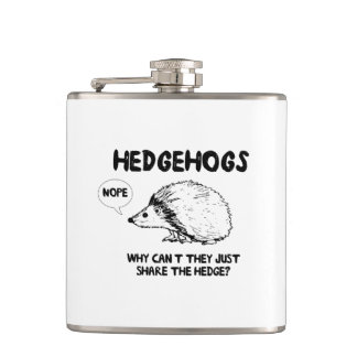 Hedgehogs Dont Share Flask