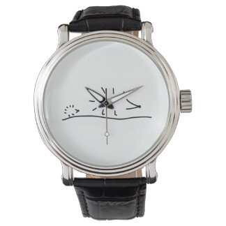 hedgehogs incite wristwatch