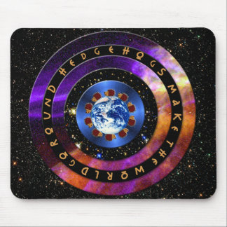 Hedgehogs Make The World Go Round! Mouse Pad